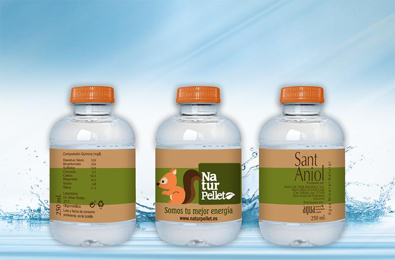 Botella Naturpellet